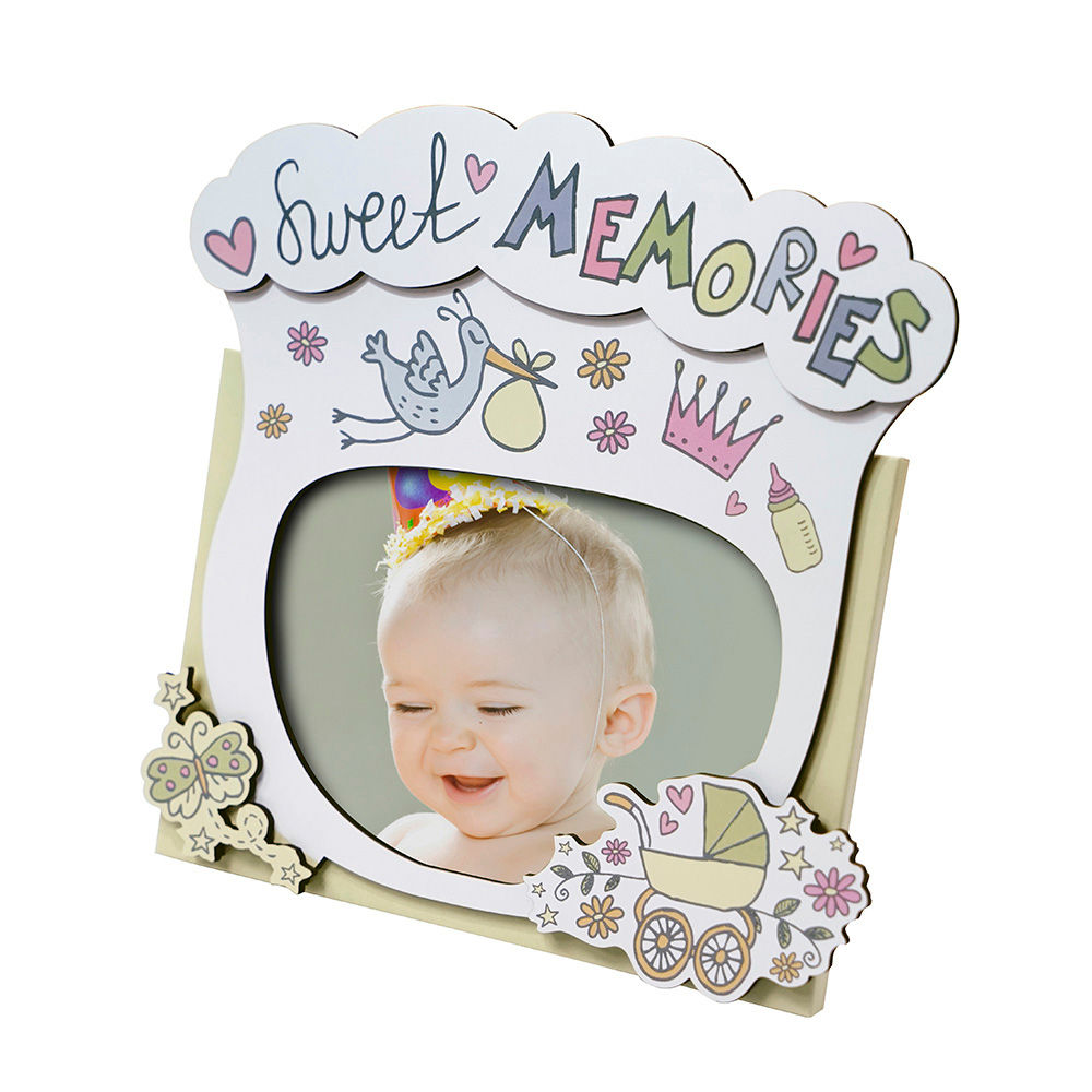 Hopscotch - Babies Bloom - Sweet Dream Baby Wooden Photo Frame