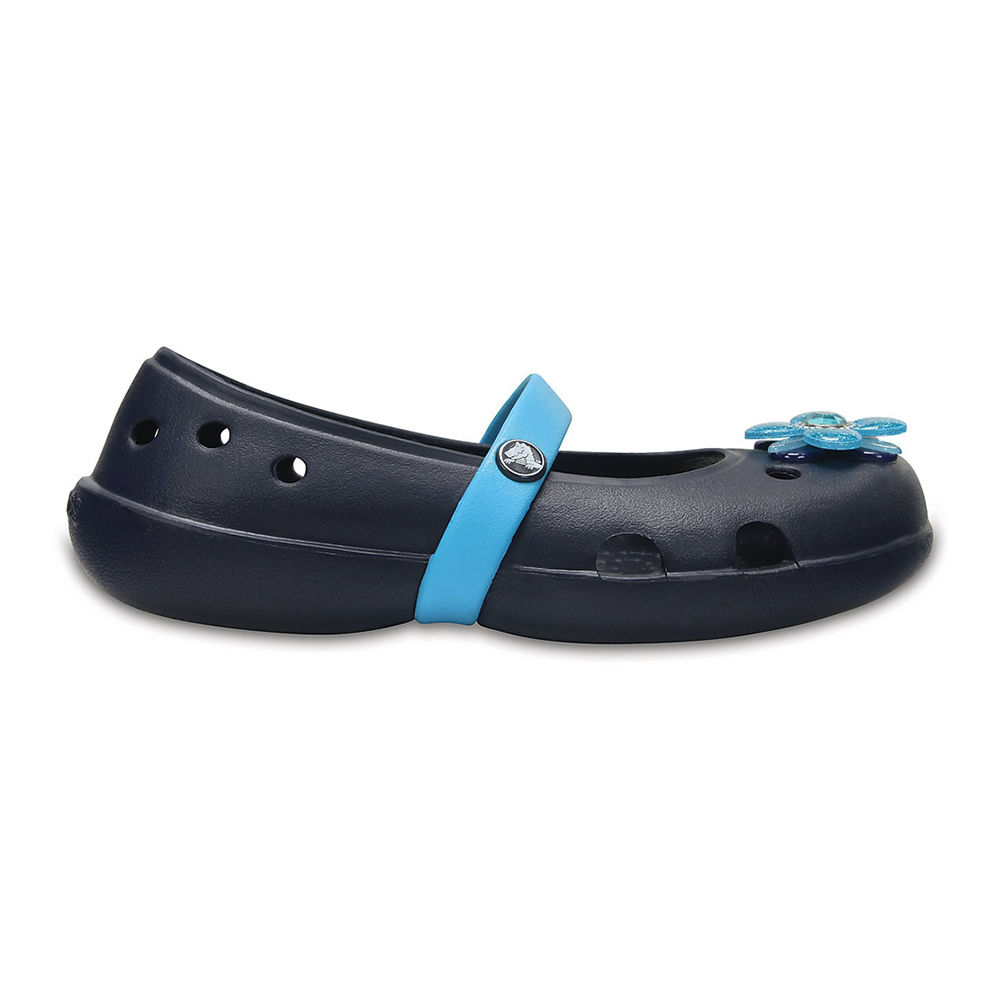 8e1dd8871 Hopscotch - Crocs - Keeley Springtime PS Navy Flats
