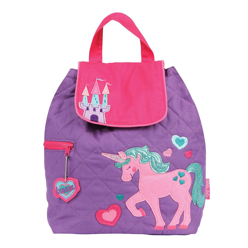 4cf0fb9156 Hopscotch - Stephen Joseph - Quilted Backpack Unicorn