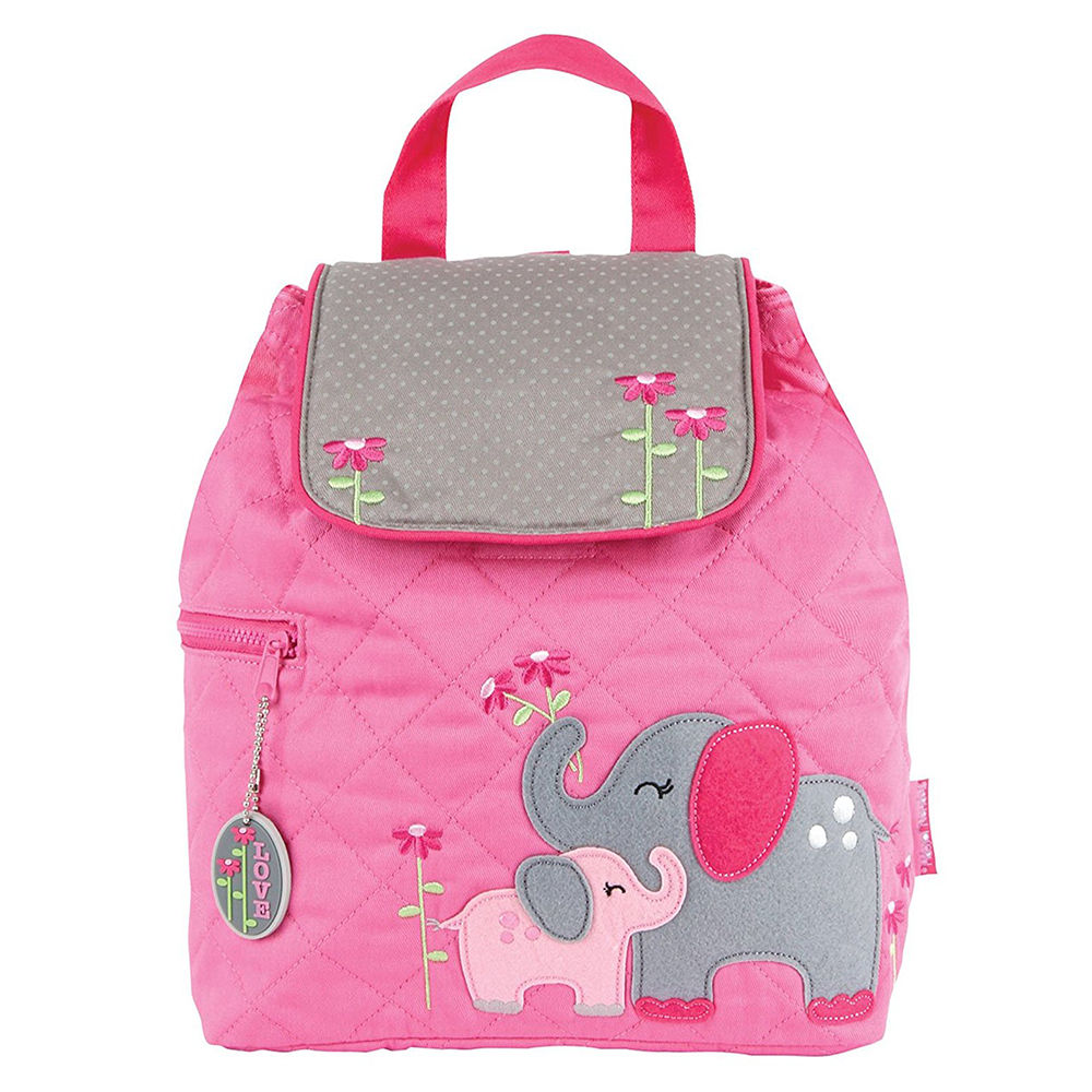 Hopscotch - Stephen Joseph - Quilted Backpack Elephant 9f14f6ecf5a71