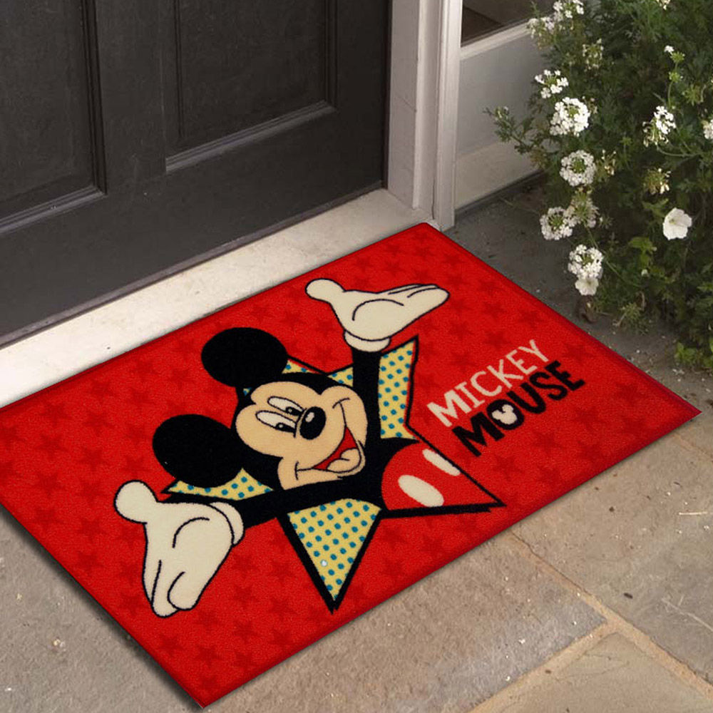 Hopscotch - Athom - Mickey Mouse - Small- Doormat - Pink