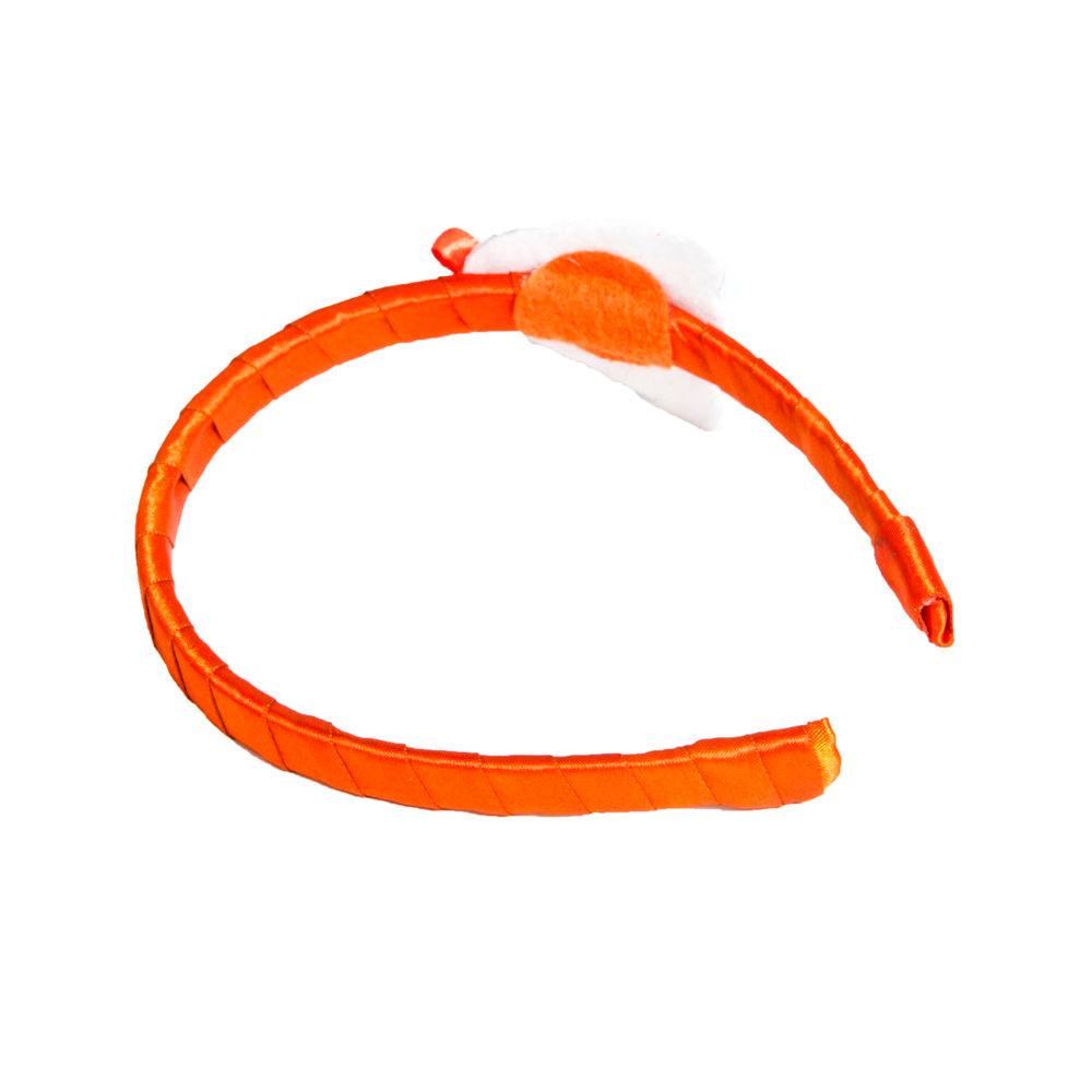 Hopscotch - Li ll Pumpkins - Orange Skull Hair Band 1ee81883c30