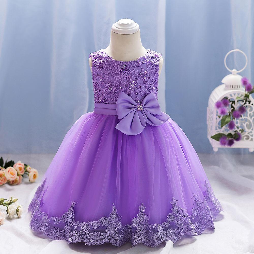 Hopscotch - Si Rosa - Purple Cute Party Dress