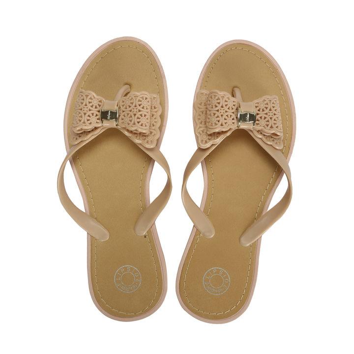 e680bd40112e Hopscotch - Flipside - Womens Lacey Beige Flats
