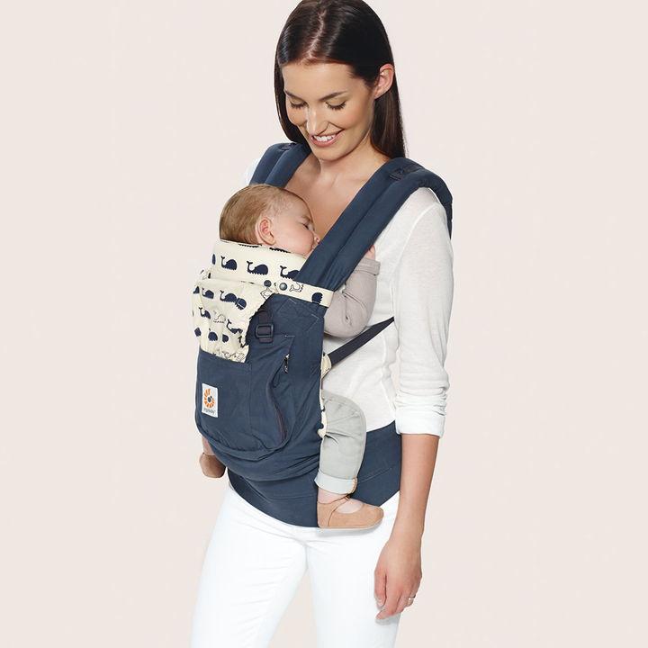 7a09420b0c5 Hopscotch - ergobaby - 3 Position Original Bundle Of Joy With Easy Snug  Infant Insert - Marine (Navy)