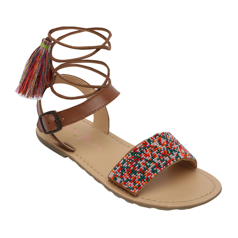 Sandals Brown Brown Sandals Jasmine Jasmine Jasmine Leather Leather trxshCQd