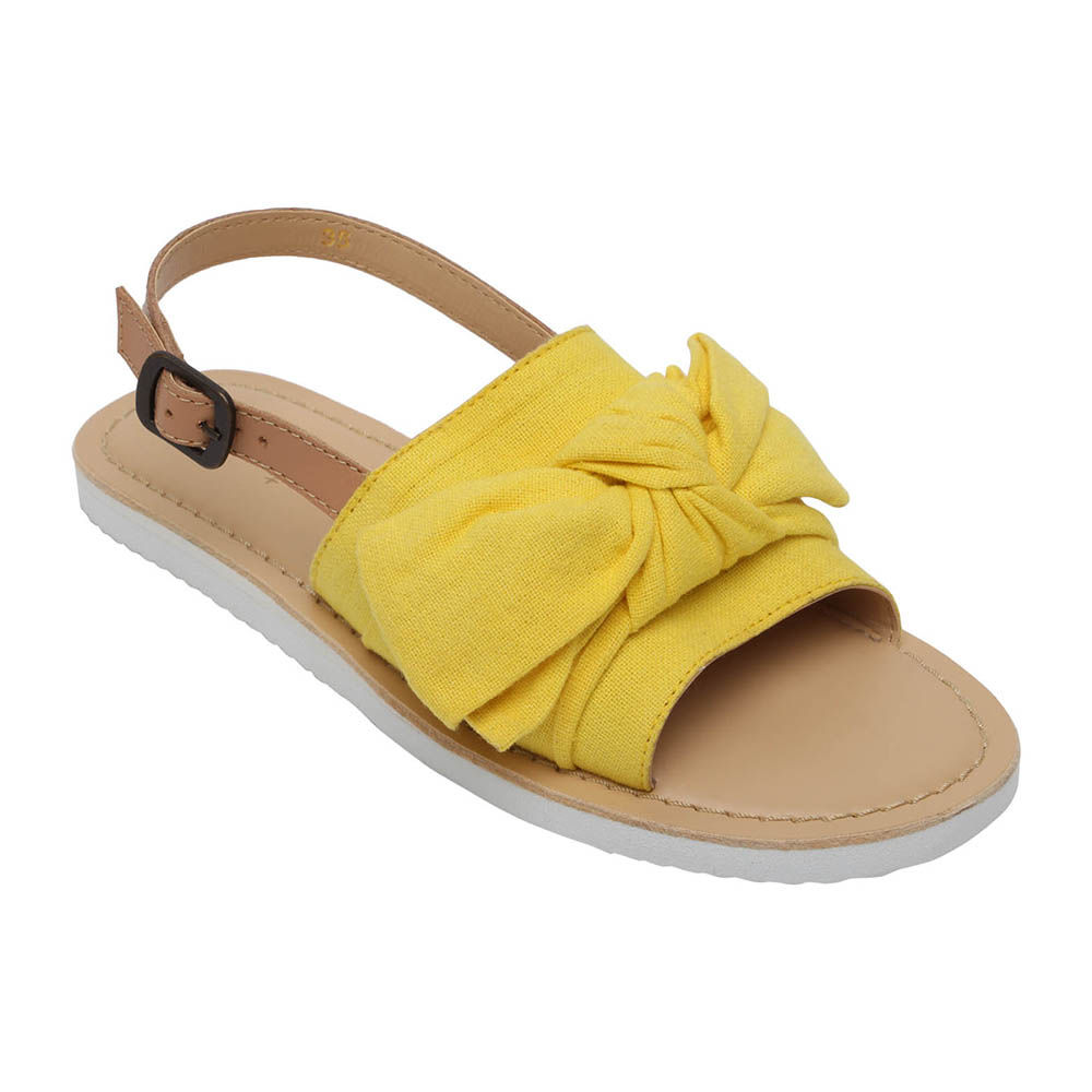 09bba373c2ac Hopscotch - Aria Nica - Ella Yellow Leather Sandals
