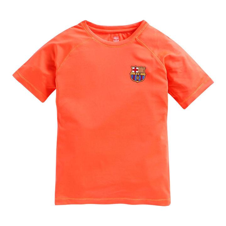 e1c1ea08b58 Hopscotch - FC Barcelona - FC Barcelona Sport Raglan Sleeves Orange T-Shirt