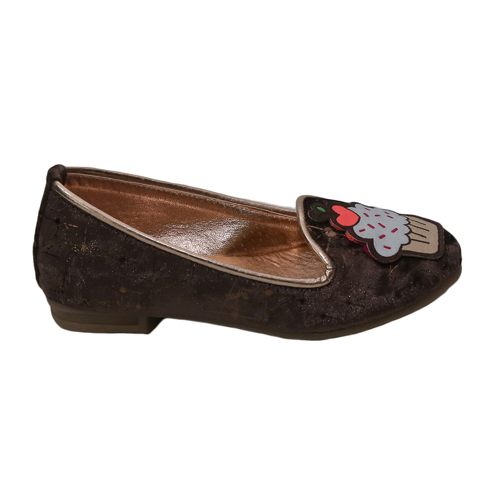 70bb8c67386 Hopscotch dchica stylish brown loafers for girls jpg 1000x1000 Brown loafers  for girls