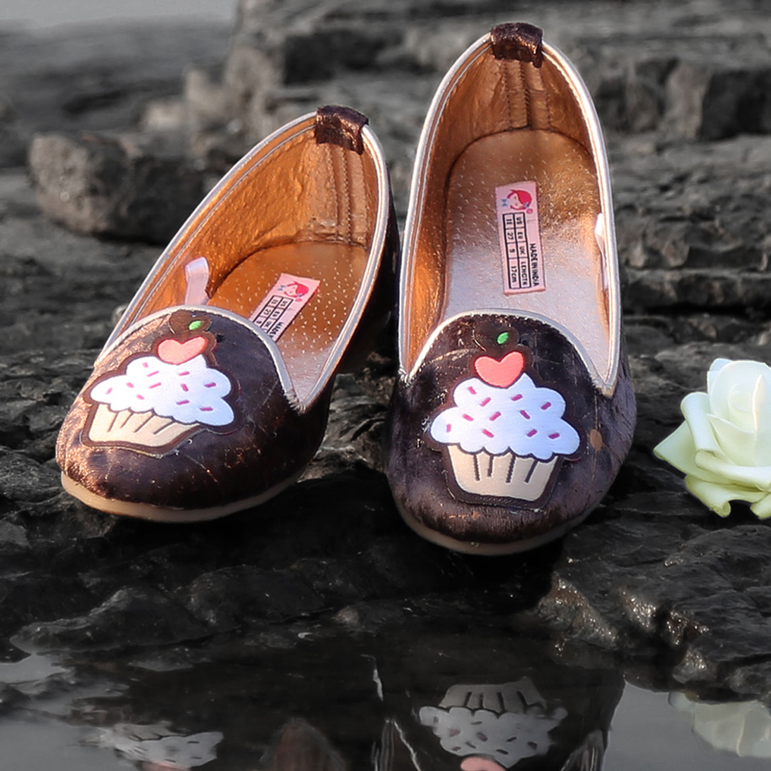 b8927895c4d Hopscotch dchica stylish brown loafers for girls jpg 1500x1500 Brown loafers  for girls