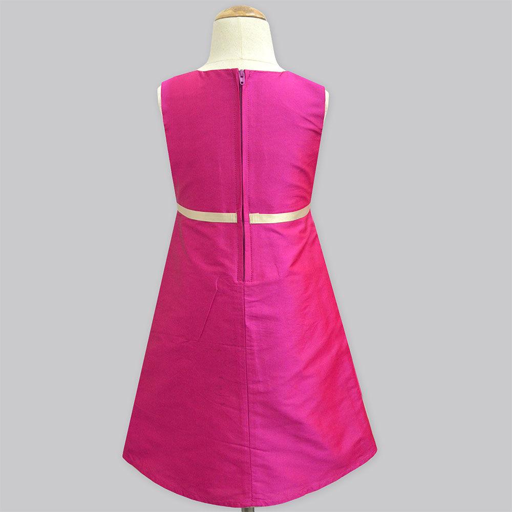 4b6a2ff19bec Hopscotch - A.T.U.N - Fuchsia Cute Sleeveless Dress