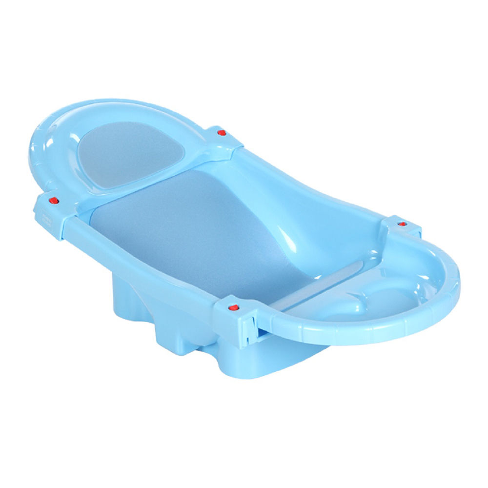 Hopscotch - Mee Mee - Fold-able And Spacious Baby Bath Tub - Blue