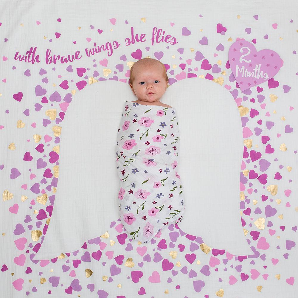 Keepsakes Lulujo Milestone Blanket & Cards