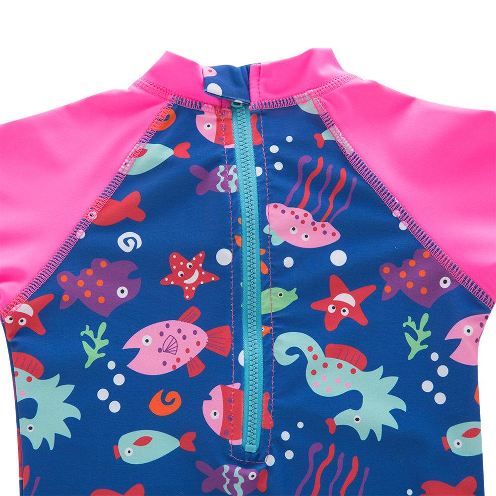 57792b3b3d1bc Hopscotch - Sweeti SW - Multi Trendy One Piece Swimsuit With Cap