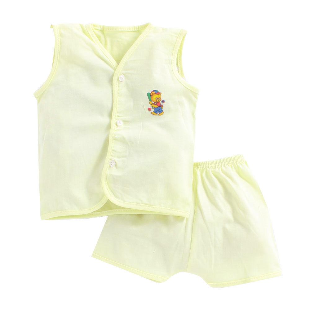 fcf6da7a88af Hopscotch - Seven Rainbows - Teddy Applique Lime Jabla and Shorts Set