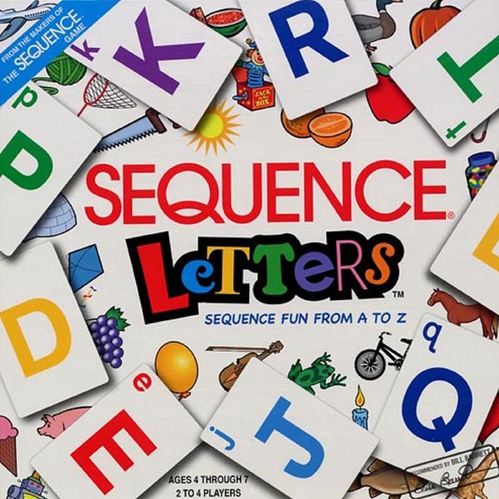 Basic Sequence Letters From A To Z Alphabet Fun Learning Board Game
