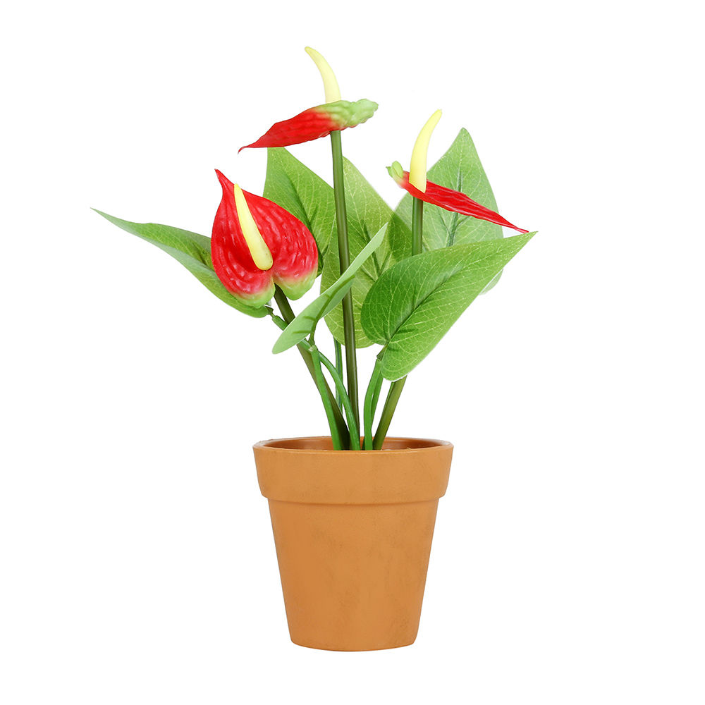 225 & Set Of 4 Artificial Flower Pots