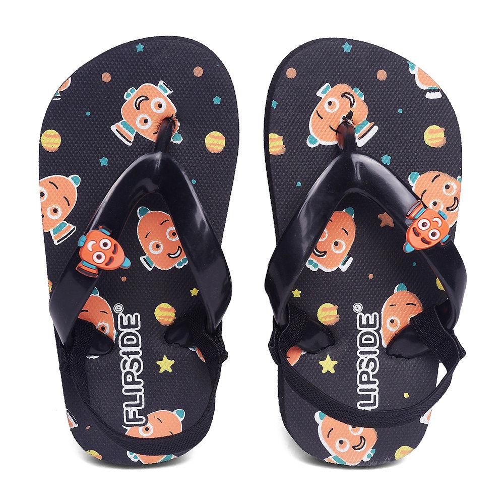 810e0fa30b1 Hopscotch - Flipside - Kids Nemo Black Flip Flops