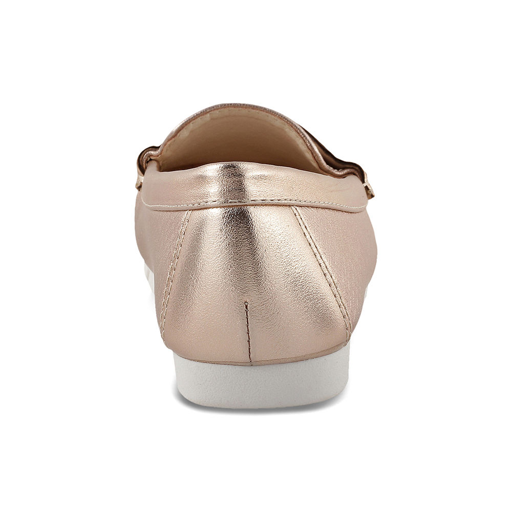 9b8fa85b9be Hopscotch - Kittens - Champagne Loafers For Girls
