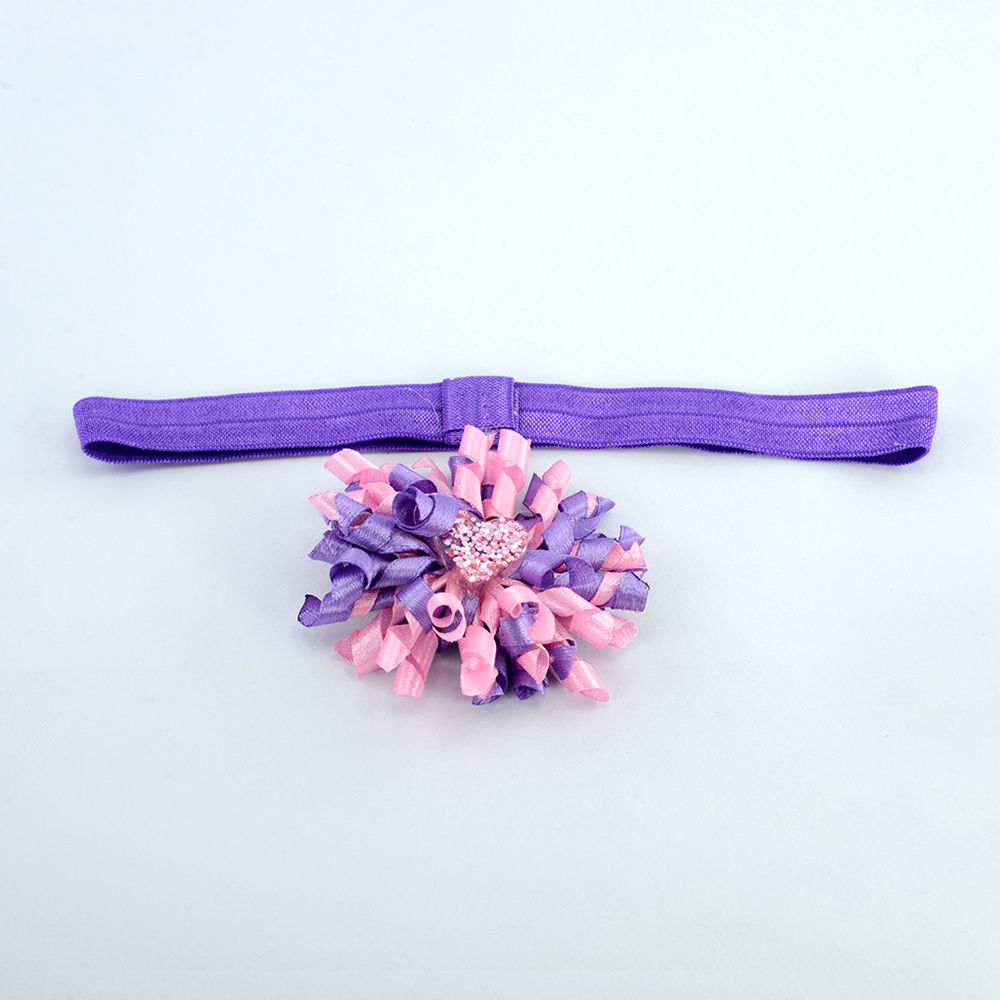 Hopscotch Aye Candy Purple Flower Headband