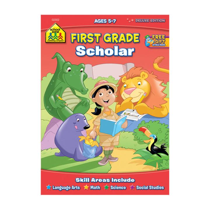 First Grade Scholar Personal Development Book