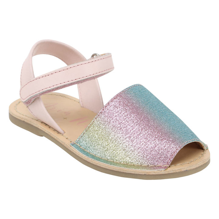 4ed0a469a6d4 Hopscotch - Aria Nica - Pony Pink Leather Sandals