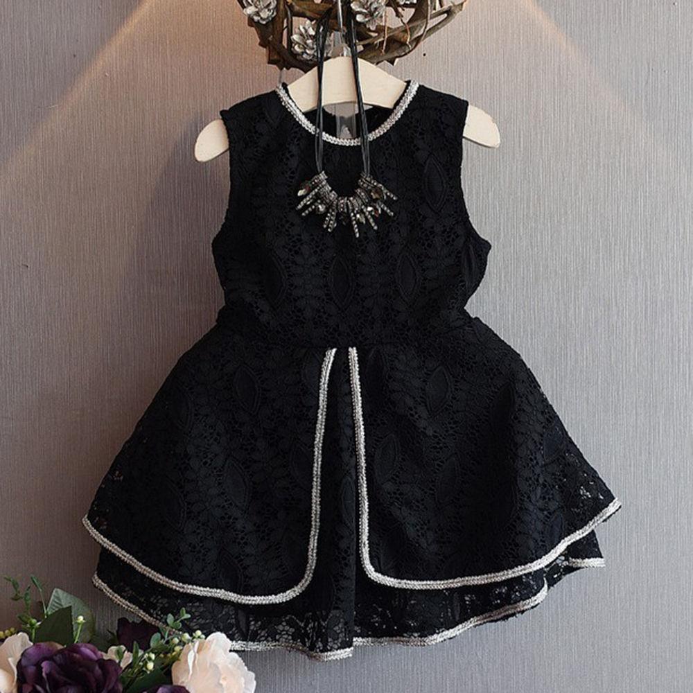 Full Black Dress