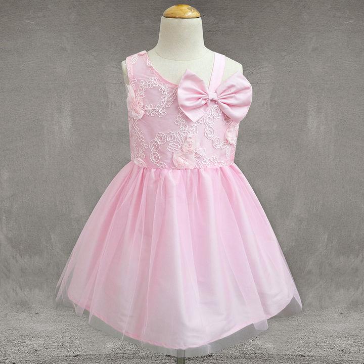 huge selection of 94d93 7a456 Baby Pink Floral Donna Dress