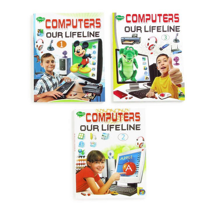 Computer Our Lifeline Development Books (8 Years & Above)