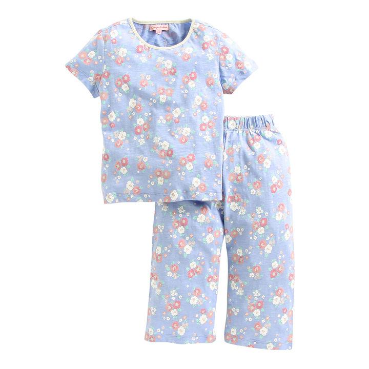 a064e29b42 Buy Blue Floral Short Sleeves Night Suit online @ ₹599 | Hopscotch