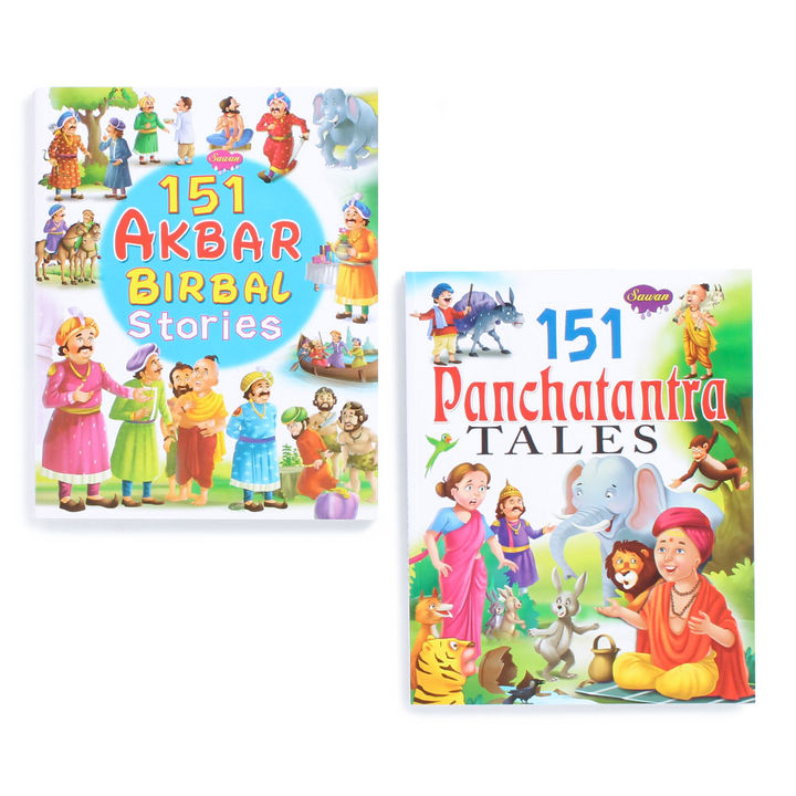 151 Panchatantra and Akbar-Birbal Story Books (5 Years & Above)