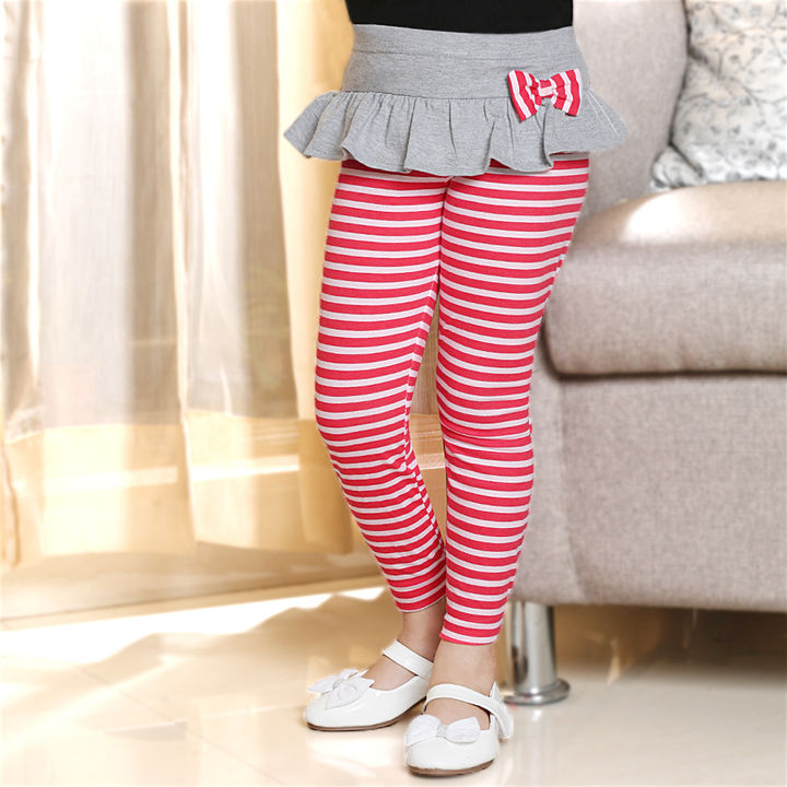316d91cea1bca Hopscotch - Dchica - Chic Striped Leggings For Girls