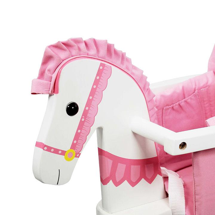 Teamson Kids - Zoo Kingdom Pony Rocking Horse - Pink