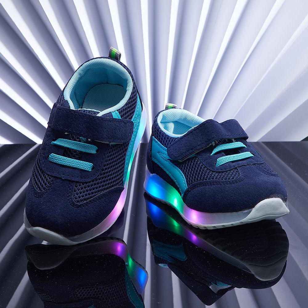 Buy Navy Blue LED Shoes online @ ₹400