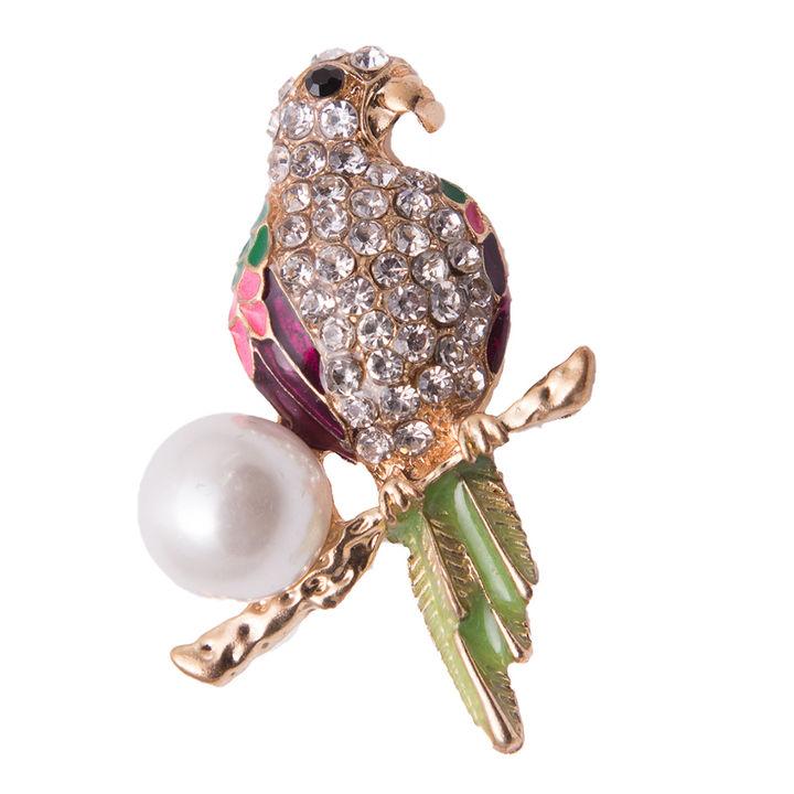 2ce63b644 Buy Parrot Design Lapel Pin Brooch online @ ₹499   Hopscotch