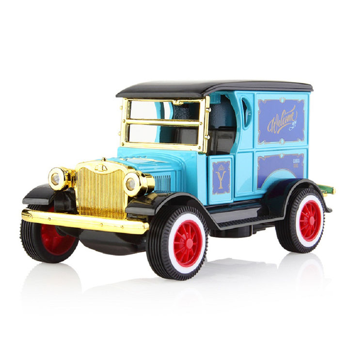 Battery Operated Die Cast Metal VIP Auto Vintage Car with Light & Sound
