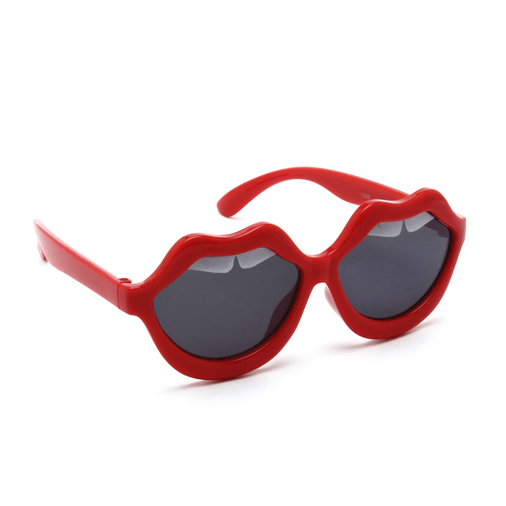 cfc46265849 Hopscotch - Mirta - Lips Design Sunglasses - Red