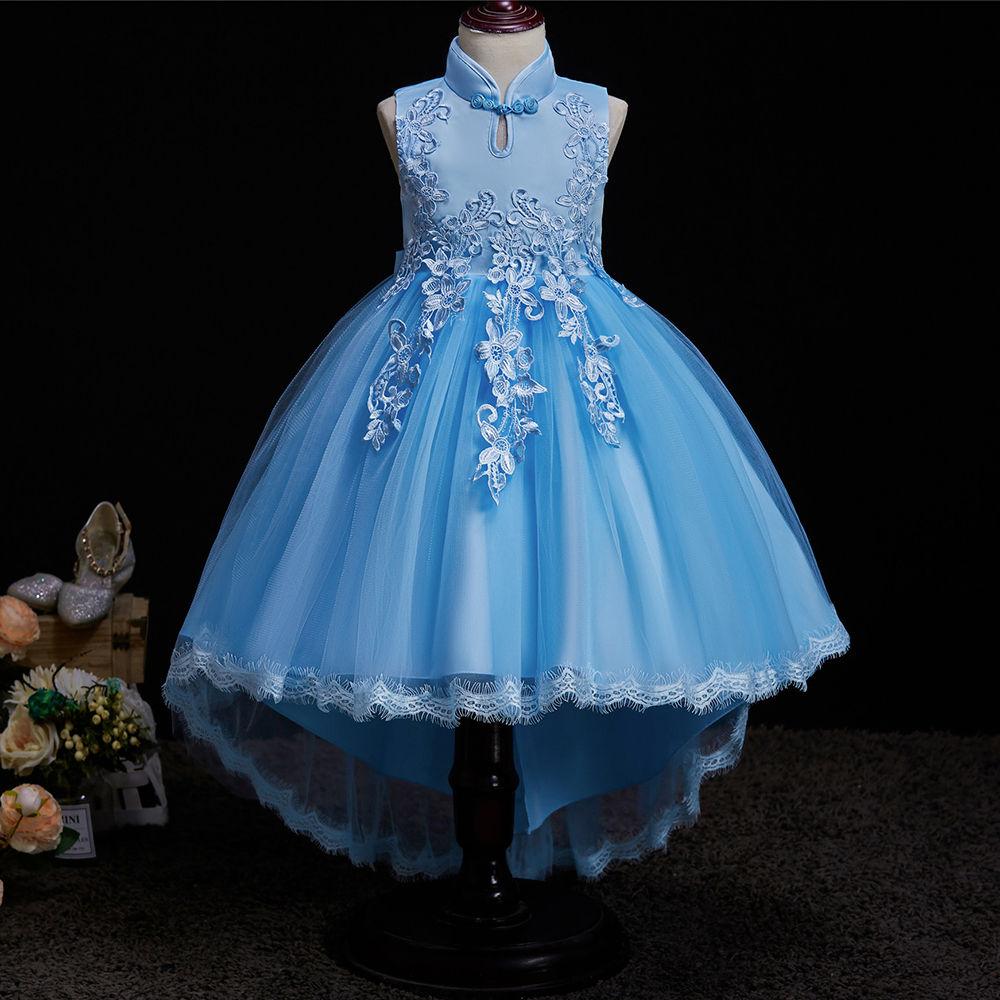 80016469488 Cute Blue High Low Dresses - Gomes Weine AG