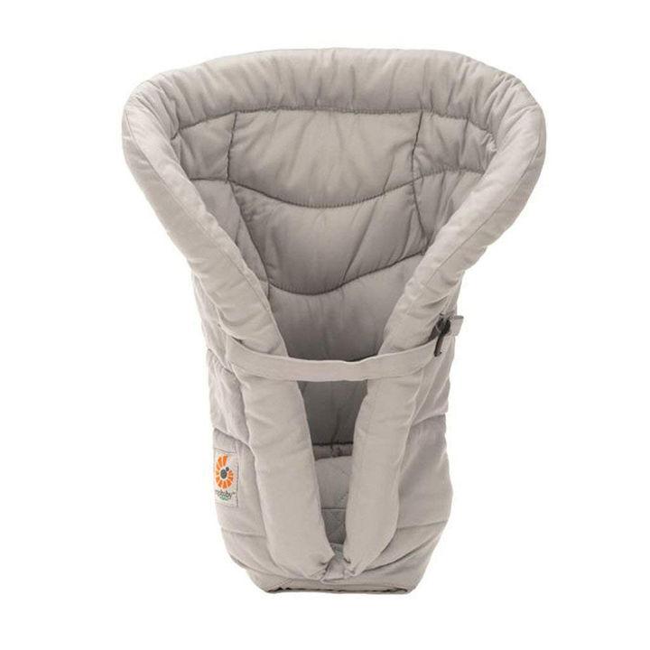 new style 5e201 2ad1e Grey Organic Cotton Infant Sleeping Bag Insert for Newborns