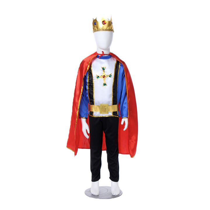 Fairytale Prince Kids Fancy Dress Costume-Halloween Theme-Imported