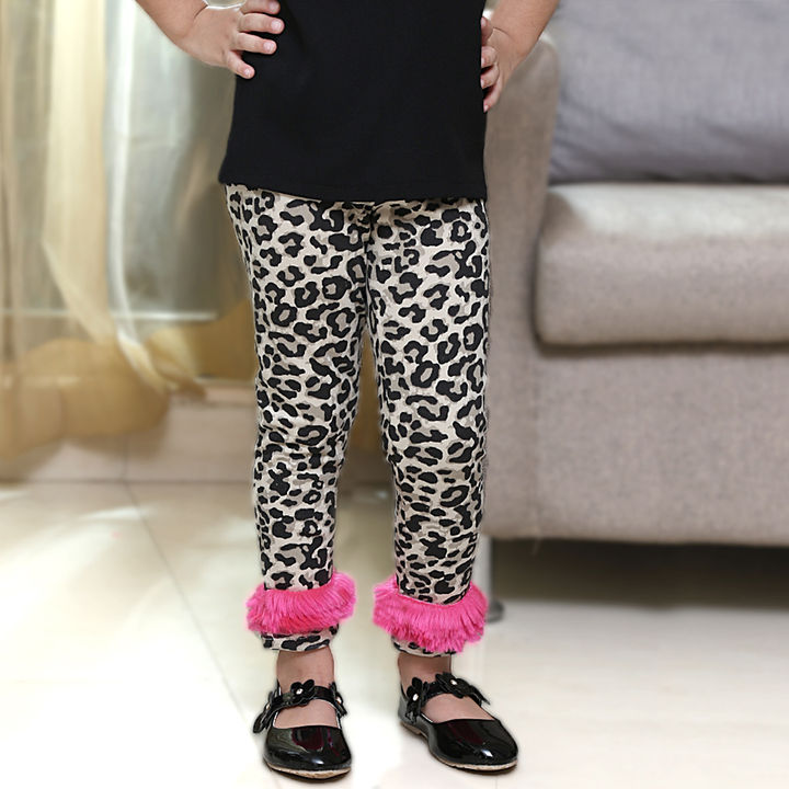 d2c82af5b35ac6 Hopscotch - Dchica - Chic Animal Print Leggings For Girls