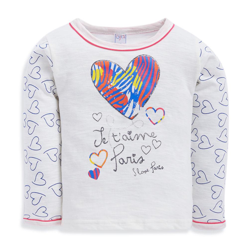 I Love Heart Paris Kids T-Shirt