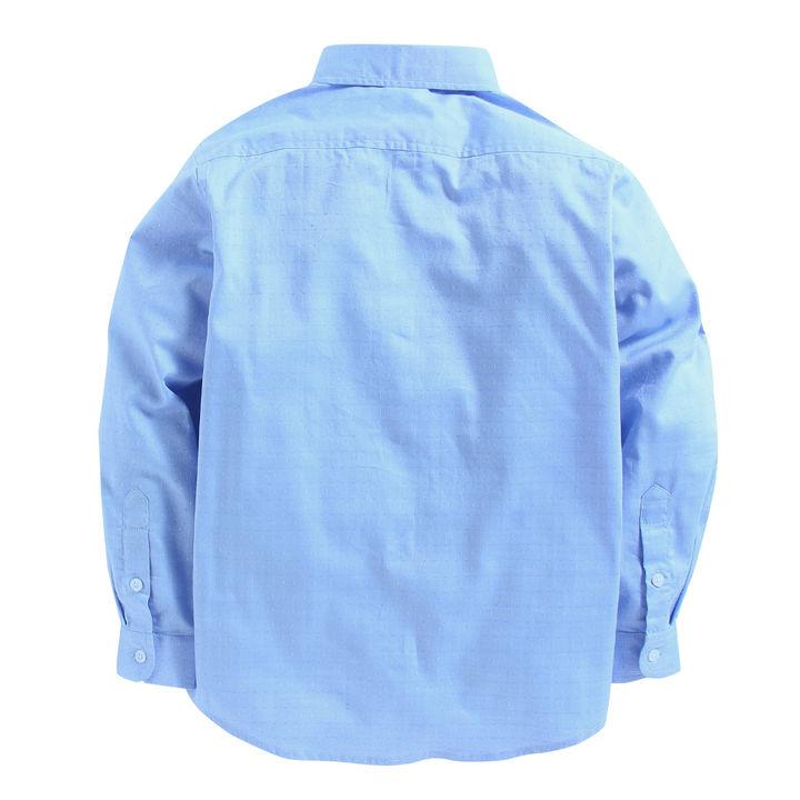 4f32595b82a0 Hopscotch - Mint   Cotton - Solid Light Blue Full Sleeves Shirt