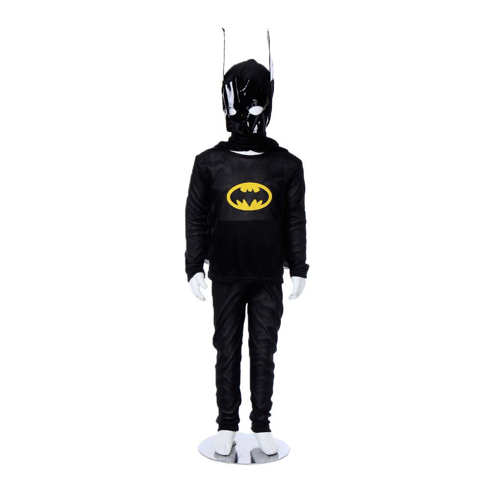 FANCY DRESS COSTUME ~ TRADITIONAL BATMAN GREY LARGE