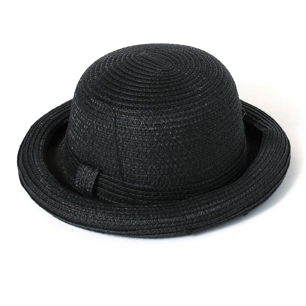 Hopscotch - Seven Rainbows - Round Bowler Hat - Black 8a7a770b5aa