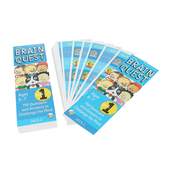 Brain Quest Grade 1, Revised 4th Edition (6-7 Years)