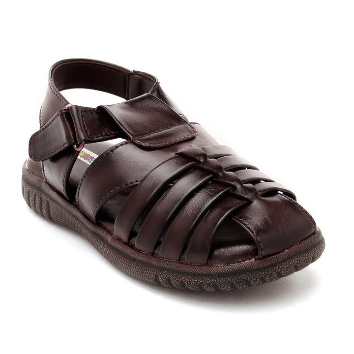 Brown Closed Toe Sandals