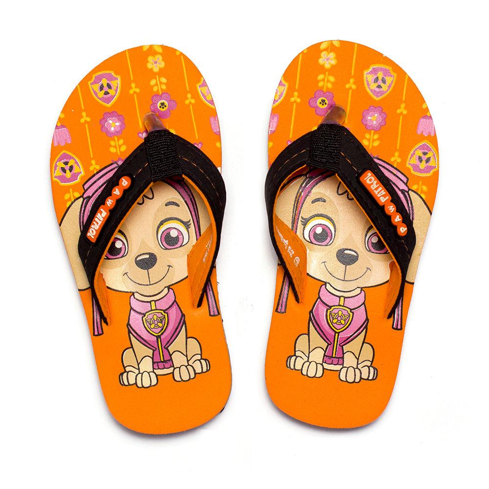 Buy Paw Patrol Orange Flip Flops online