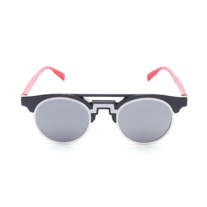 Two Color Designer Mercury Sunglass- Black