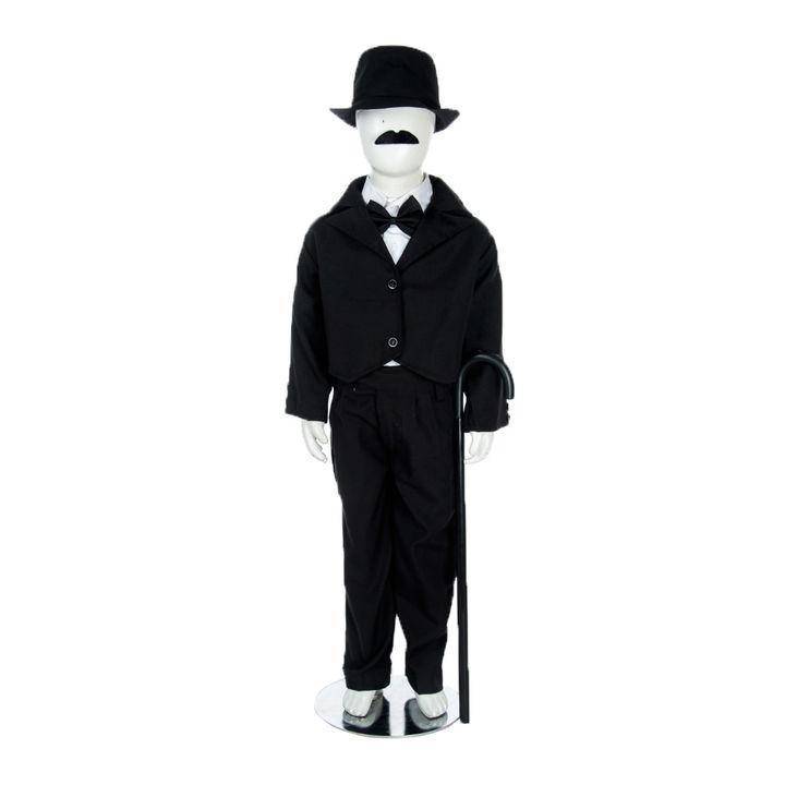 7a6868f5a93b0 Hopscotch - BookMyCostume - Charlie Chaplin Famous Comic Character Kids  Fancy Dress Costume-With Stick